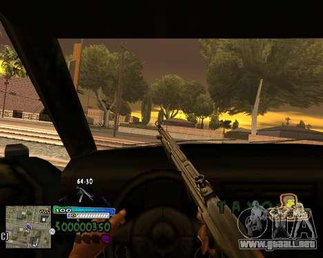 Vista de la primera persona para GTA San Andreas segunda pantalla