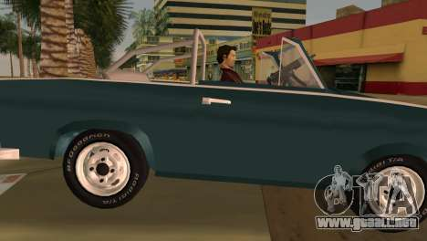 Trabant 601 Custom para GTA Vice City vista lateral izquierdo