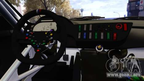 BMW Z4 GT3 2012 para GTA 4 vista superior