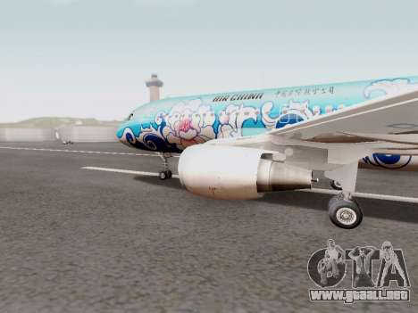 Airbus A320 Air China para GTA San Andreas left