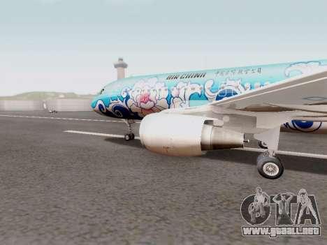 Airbus A320 Air China para GTA San Andreas left