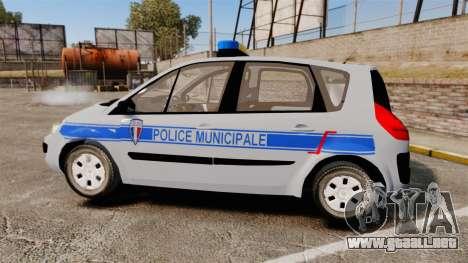 Renault Scenic Police Municipale [ELS] para GTA 4 left
