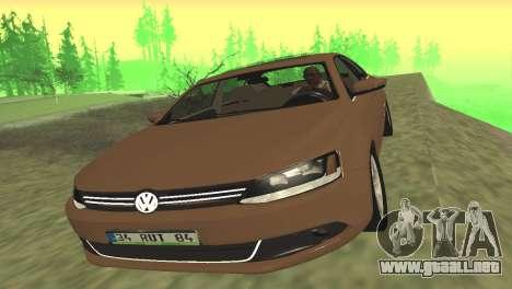 Volkswagen Jetta 1.4 2013 TSI Highline para GTA San Andreas left