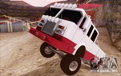 Offroad Firetruck para la visión correcta GTA San Andreas
