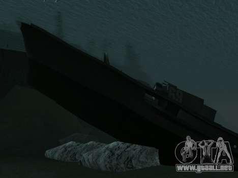 Los restos del naufragio v2.0 Final para GTA San Andreas tercera pantalla