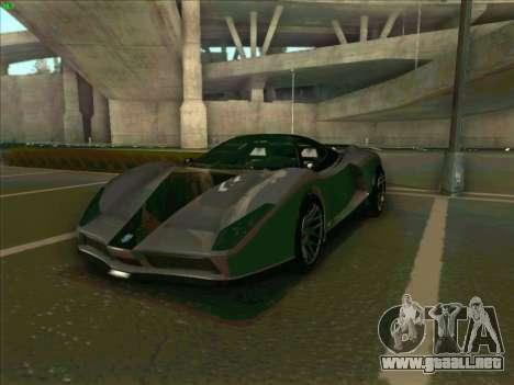 Cheetah Grotti GTA V para GTA San Andreas