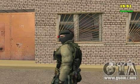 Кестрел Splinter Cell Conviction para GTA San Andreas segunda pantalla
