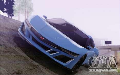 GTA V Dinka Jester HQLM para GTA San Andreas