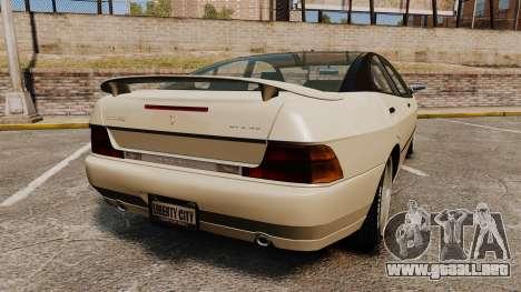 Imponte DF8-90 new wheels para GTA 4 Vista posterior izquierda