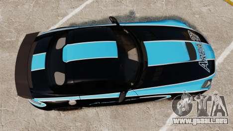 Mercedes-Benz SLS 2014 AMG Black Series Area 27 para GTA 4 visión correcta