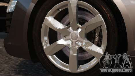Audi R8 v1.1 para GTA 4 visión correcta