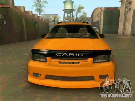 Toyota Carib para GTA San Andreas vista hacia atrás