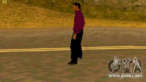 La nueva textura shmycr para GTA San Andreas sucesivamente de pantalla