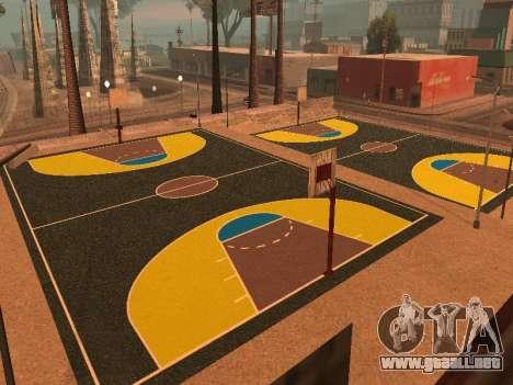 Nueva cancha de baloncesto para GTA San Andreas