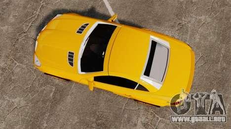 Mercedes-Benz SLK 55 AMG 2014 v1.4 para GTA 4 visión correcta
