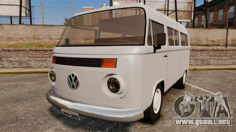 Volkswagen Kombi 1999 para GTA 4