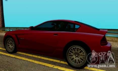 Fusilade GTA V para GTA San Andreas vista posterior izquierda