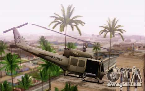 Bell UH-1N Twin Huey para GTA San Andreas left