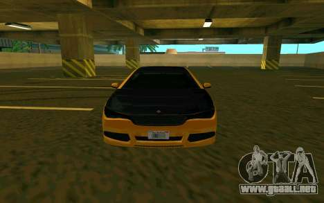 Ubermacht Oracle из GTA EN para GTA San Andreas left