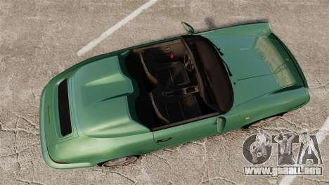 Porsche 911 Speedster para GTA 4 visión correcta