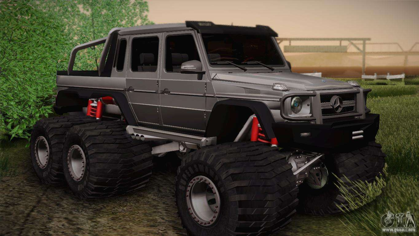 Mercedes benz g63 amg 6x6 para gta san andreas for Mercedes benz g63 6x6 amg