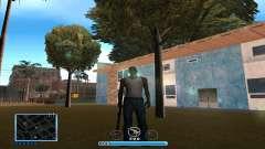 C-HUD by Andr1k para GTA San Andreas