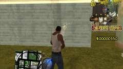 C-HUD LSVG para GTA San Andreas