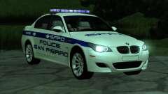 BMW M5 E60 Police SF para GTA San Andreas