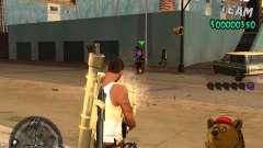 C-HUD Bear para GTA San Andreas