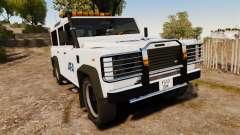 Land Rover Defender AFA [ELS] para GTA 4