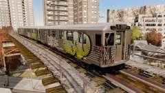 Nuevo graffiti para metrowakonowa