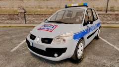 Renault Scenic Police Municipale [ELS]