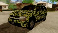 Chevrolet TrailBlazer Army para GTA San Andreas
