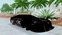 Lexus LFA Street Edition Djarum Black para GTA San Andreas