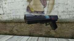 La pistola de Star Wars