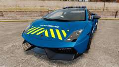 Lamborghini Gallardo Gendarmerie National [ELS] para GTA 4