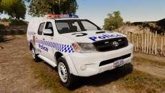 Toyota Hilux Police Western Australia