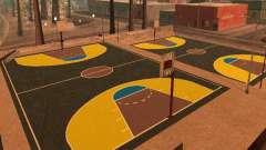 Nueva cancha de baloncesto