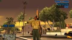 C-HUD Minimal para GTA San Andreas