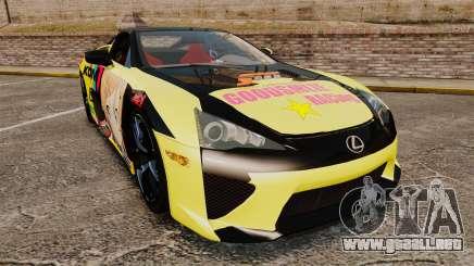 Lexus LF-A 2010 [EPM] Goodsmile Racing para GTA 4