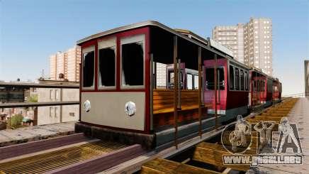 El tranvía de San Andreas para GTA 4