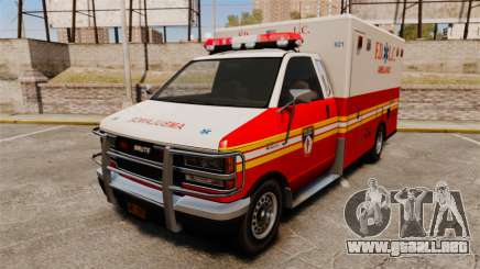 Brute FDLC Ambulance para GTA 4