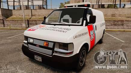 Vapid Speedo U.S. Coast Guard para GTA 4