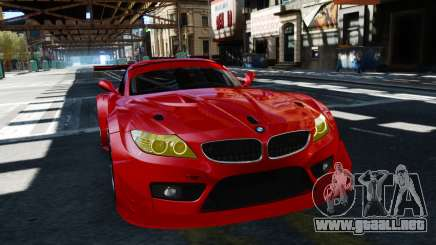 BMW Z4 GT3 2012 para GTA 4