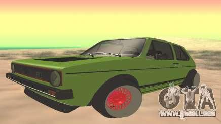 Volkswagen Golf Mk1 Low para GTA San Andreas