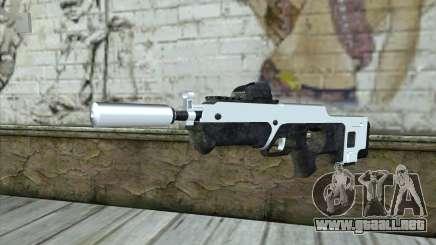 F6 Assault Rifle para GTA San Andreas