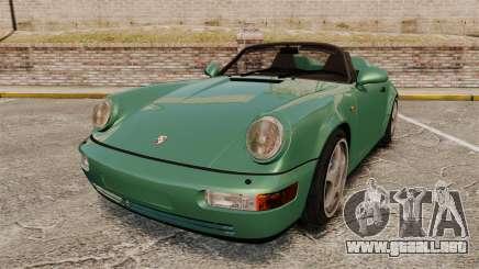 Porsche 911 Speedster para GTA 4