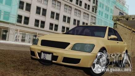 GTA IV Sultan para GTA San Andreas