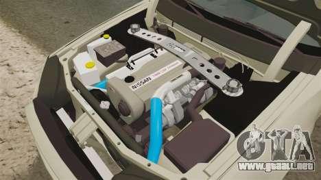 Nissan Skyline R34 Nismo Z-Tune para GTA 4 vista interior