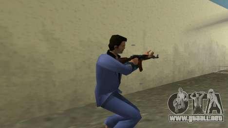 Kalashnikov Modernizado para GTA Vice City sucesivamente de pantalla